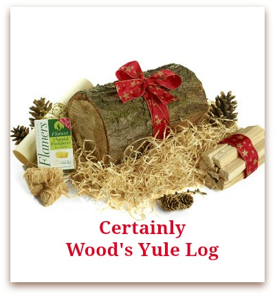 Certainly Wood's Yule Log