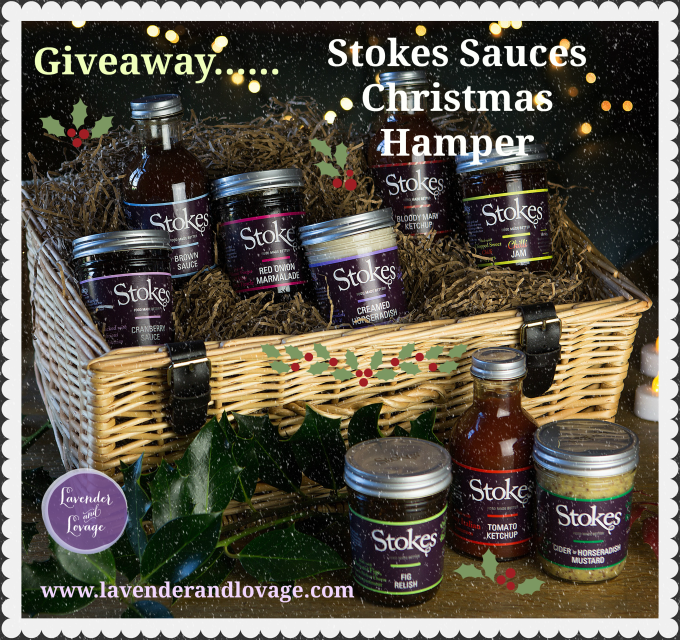 Giveaway: Stokes Sauces CHRISTMAS HAMPER (RRP£38)