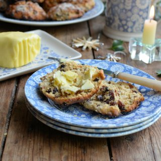 Countdown to Christmas: Mincemeat Scones for the Christmas Tea Time Table