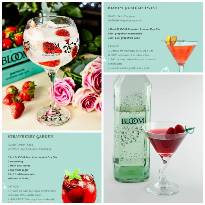 Giveaway & Romantic Cocktail Recipes: Bloom Gin (RRP: £24)
