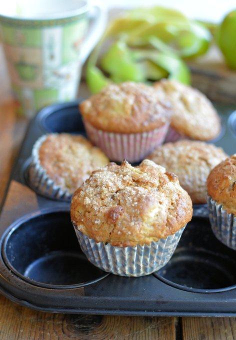 Apple, Cinnamon and Brown Sugar Muffins (4)