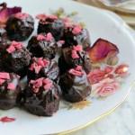 Rose Scented Chocolate Truffles