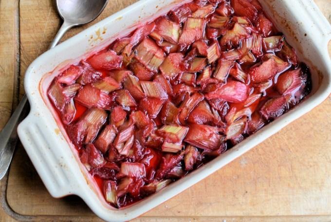 Roasted Rhubarb