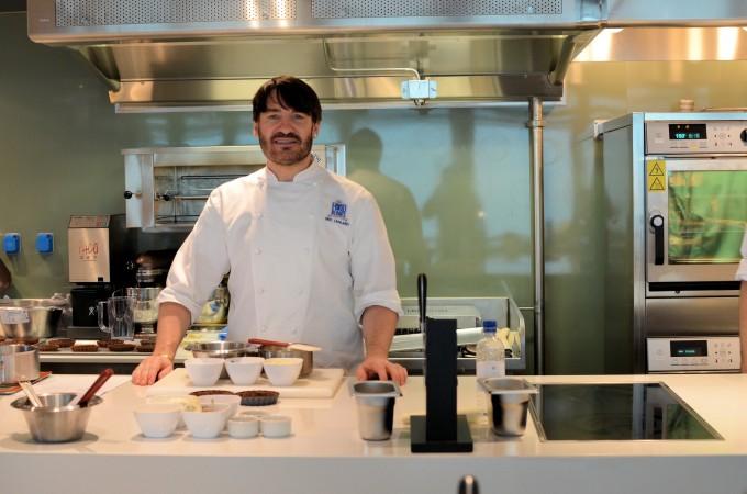 Eric lanlard in the Cookery Club