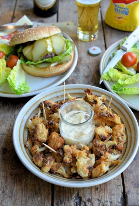 Secret Recipe Club: Buffalo Cauliflower Bites