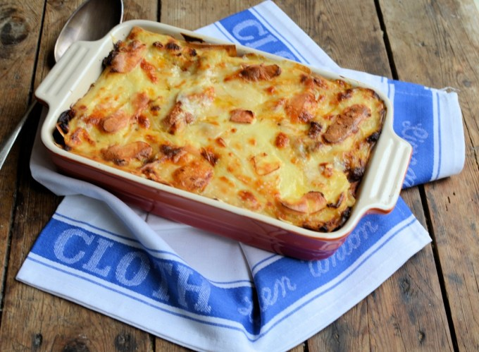 Dead Posh Beef Lasagne with Lea & Perrins Worcestershire Sauce