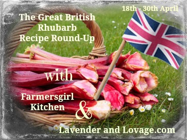 Blog Hop and Linky Party: The Great British Rhubarb Recipe Round-Up!