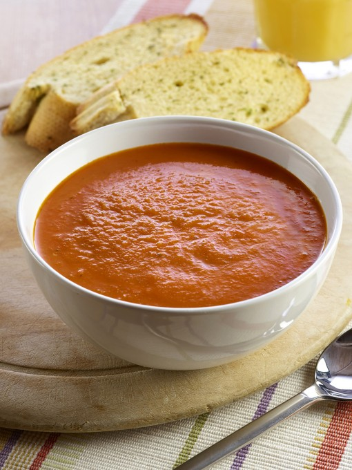 TOMATO SOUP WITH HIDDEN VEGETABLES