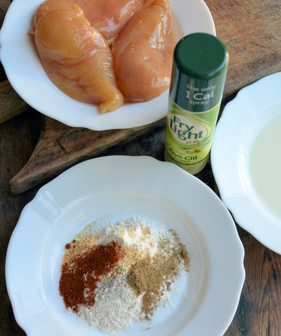 Spice mix and ingredients for KFC chicken