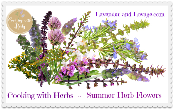 August Cooking with Herbs