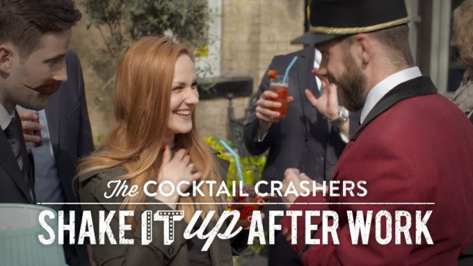 Cocktail Crashers vs the weeknight #letsCocktail