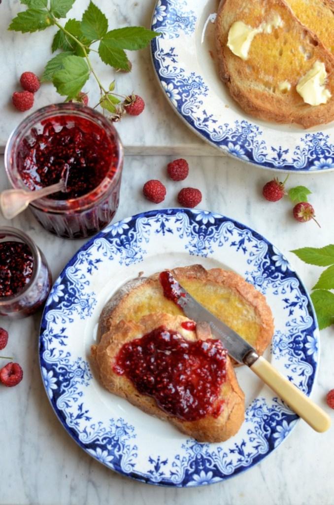 The Alchemy of Fruit & Sugar: One Punnet Raspberry Jam