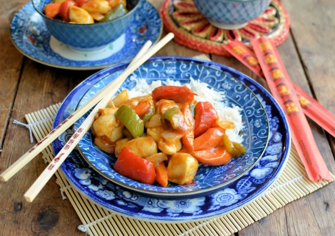 ActiFry Challenge: Sweet and Sour Chicken (Healthy Takeaway Recipe)