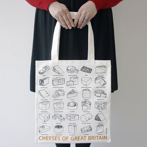 Cheeses of Great Britain Bag