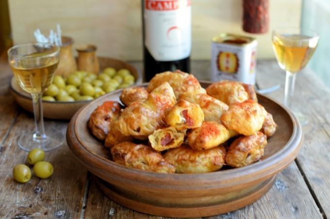 Empanaditas de Chorizo (Chorizo Empanadas) Adapted from The Cuban Table: A Celebration of Food, Flavors, and History