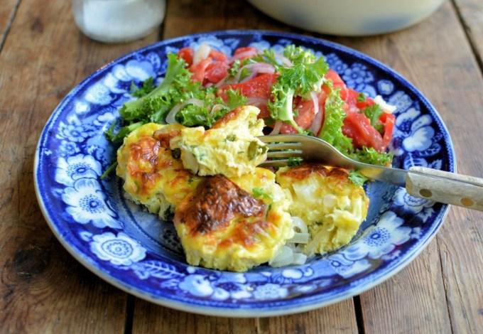 Mini Baked Omelettes