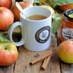 Hot Buttered Spiced Cider with Manuka Honey