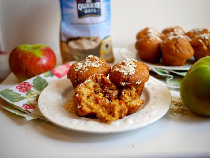 Apple & Oat Breakfast Muffins