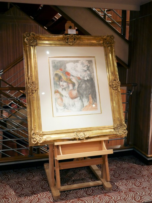 Art on board the Silver Spirit