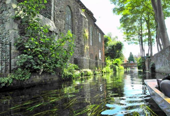 Grand Stour Canal Canterbury