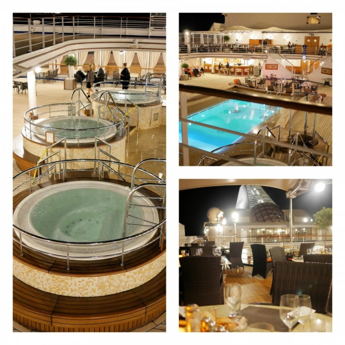 Silver Spirit Pool Deck and Grill