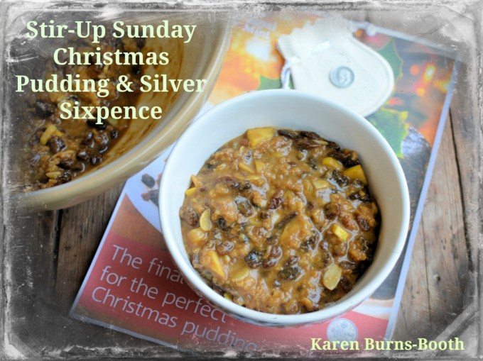 Stir-Up Sunday Christmas Pudding & Silver Sixpence