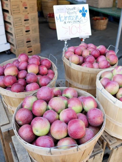 Apples Jean Talon Market