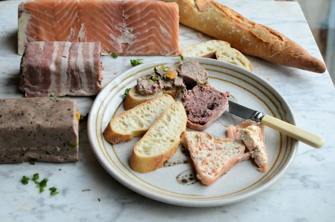Terrine and Pate from Booths Great Northern Christmas 2015