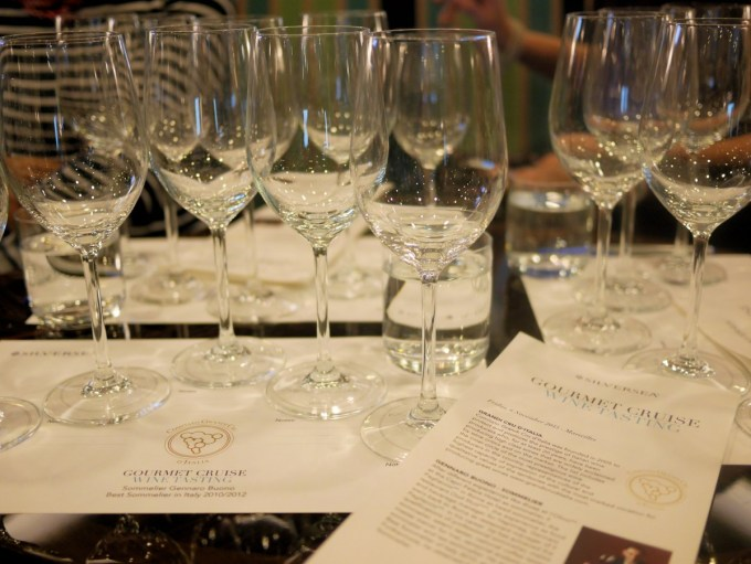 Relaise & Chateaux Wine Tasting