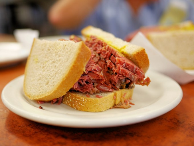 Schwartz Smoked Meat Sandwich