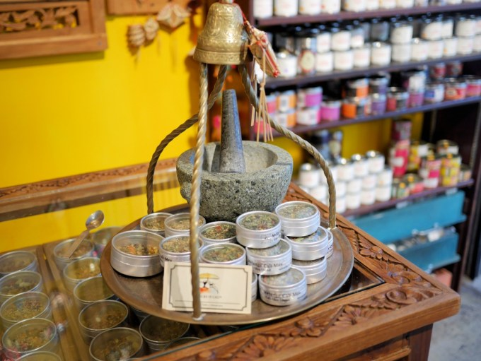 spices at Jean Talon market