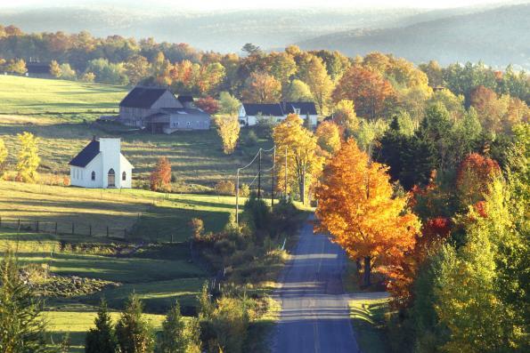 Cantons-de-l'Est: Eastern Townships in Quebec