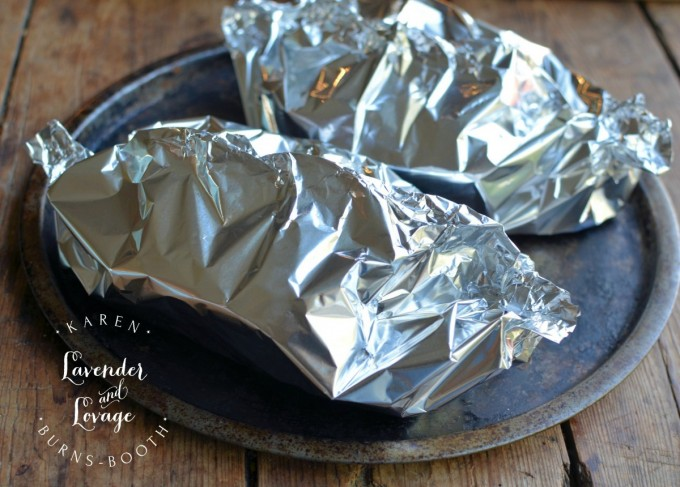 Chutney Chicken Parcels