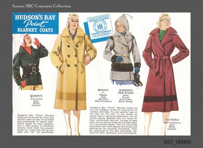 Hudson's Bay Blankets Coats