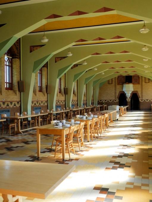 Abbaye de St-Benoît-du-Lac Refectory