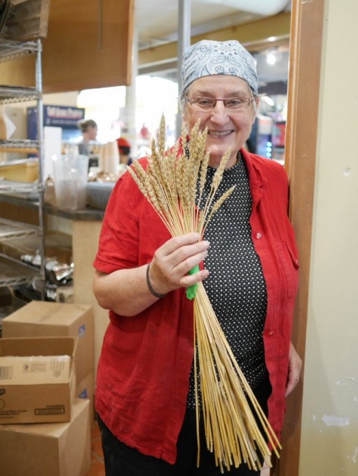 Tabitha Langel at The Tall Grass Prairie Bakery