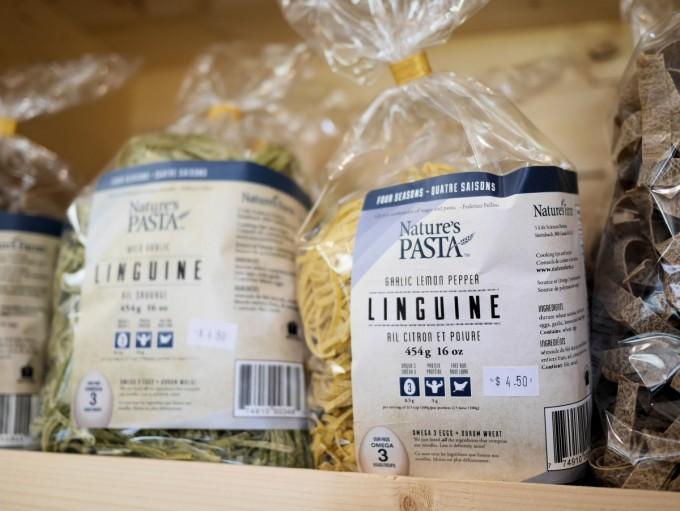 Nature's Farm Pasta and Eggs