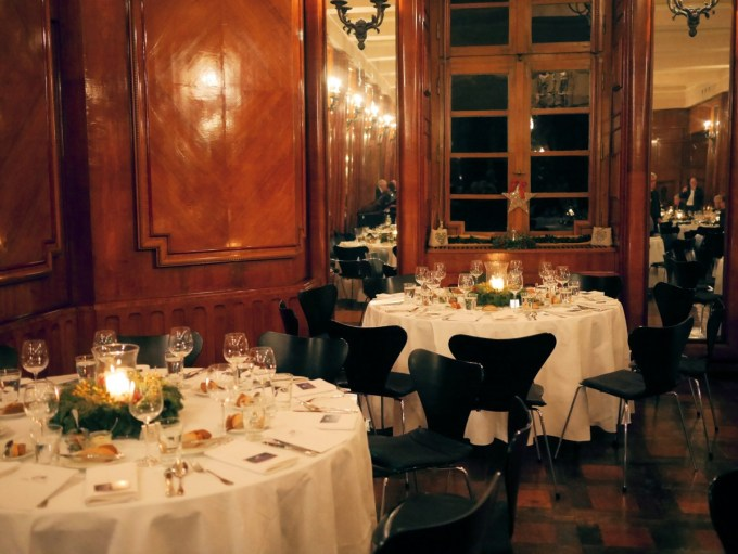 Dining in Namedy Castle
