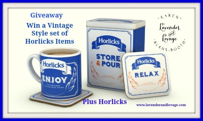 Giveaway: Set of Vintage Style Horlicks Kitchenware
