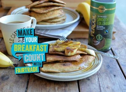 The Big Fairtrade Breakfast with Percol Coffee
