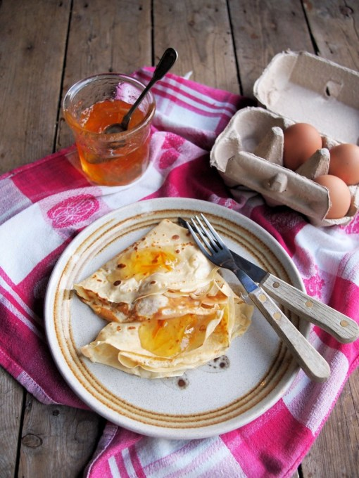 Pancakes and Marmalade