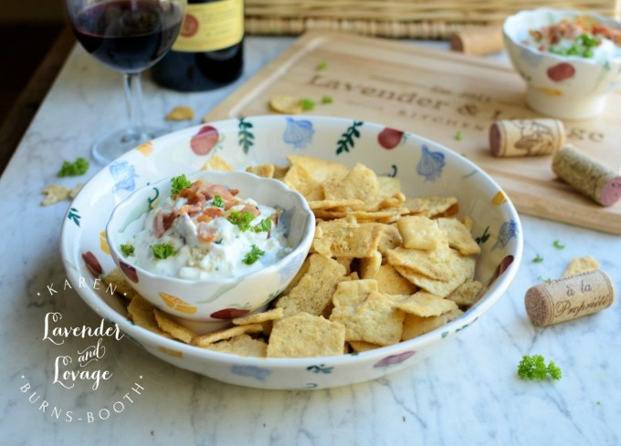 Bacon, Cheddar and Chive Cream Cheese Dip