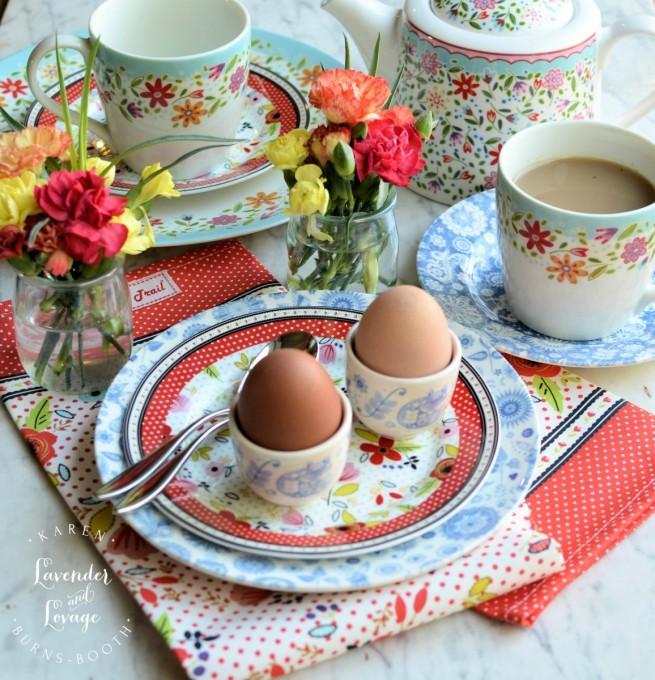 Boiled Eggs for Easter