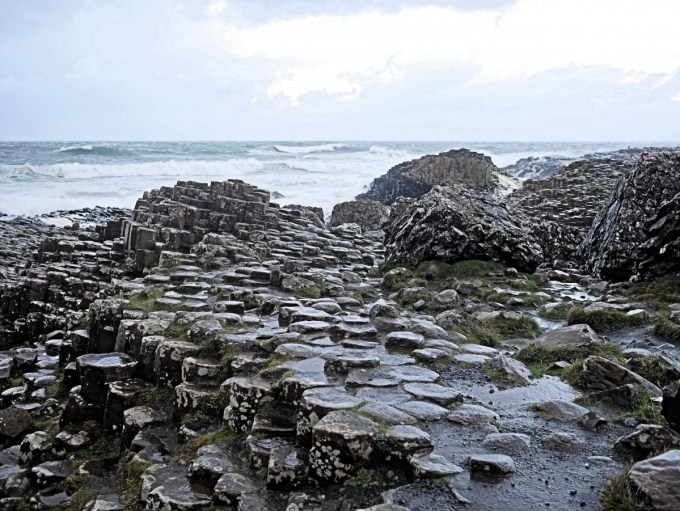 Harry's Shack and the Giant's Causeway, Northern Irleand