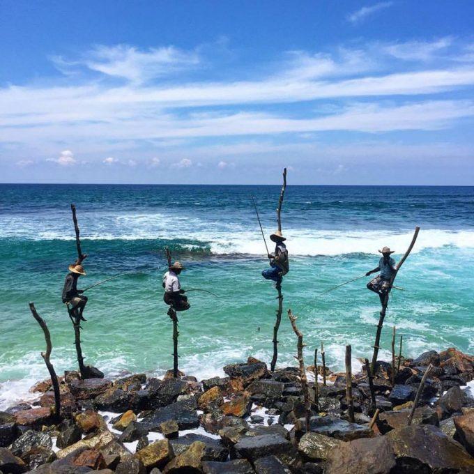 Stilt Fisherman at Weligama