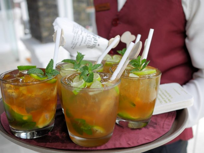 Tea Mojitos at Jetwing St Andrews