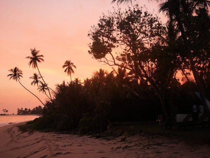 Sunset at Mirissa