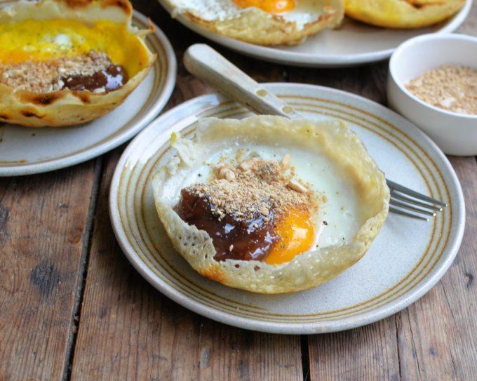Egg Hoppers served