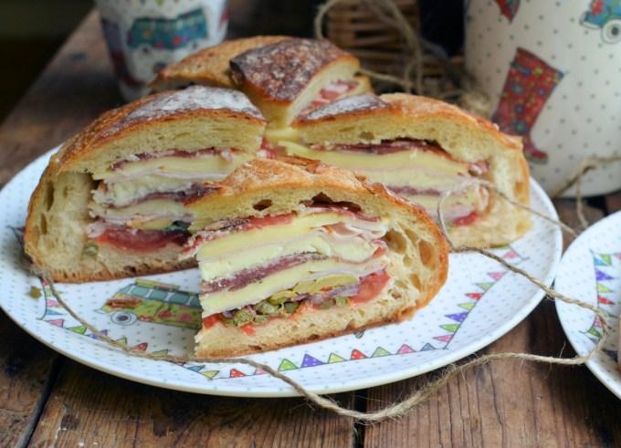 Muffuletta for British Sandwich Week