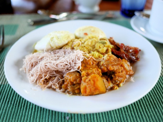 Sri Lankan Breakfast